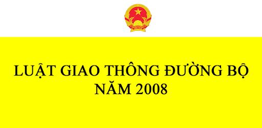 LUẬT GIAO THÔNG ĐƯỜNG BỘ 2008