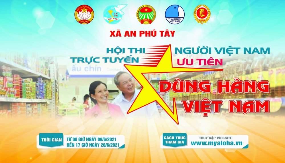 """Hội thi trực tuyến """"Người Việt Nam ưu tiên dùng hàng Việt Nam"""""""