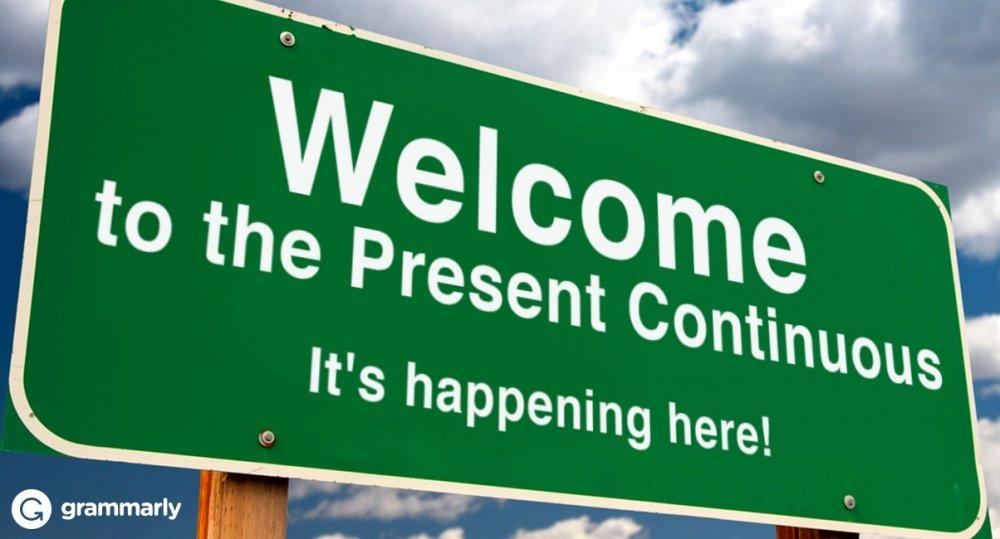 2.Present Continuous