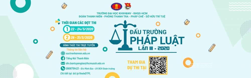 Thông tin liên hệ Đấu trường Pháp luật