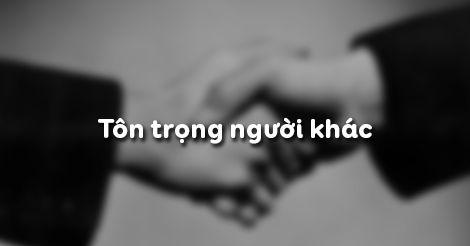 Giải bài tập SGK GDCD 8 bài 3: Tôn trọng người khác