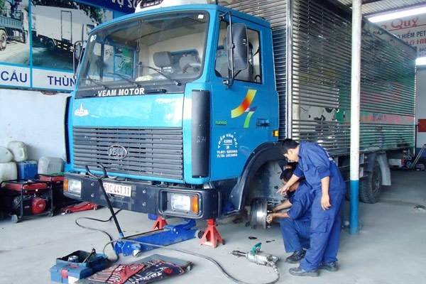 Dấu hiệu cần sửa chữa xe tải