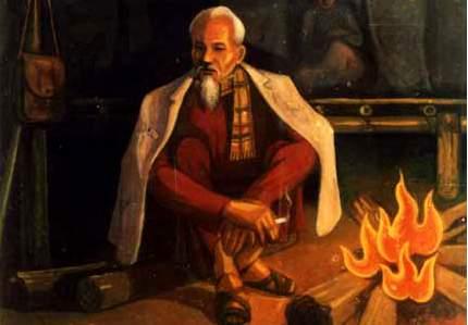 Cảm nghĩ về hình ảnh ngọn lửa trong bài thơ Đêm nay Bác không ngủ