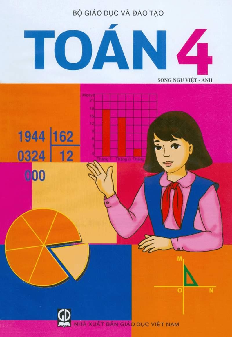 Bài tập toán lớp 4: Dạng toán tìm hai số khi biết tổng và hiệu