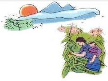 Hình ảnh người mẹ trong bài thơ Khúc hát ru những em bé
