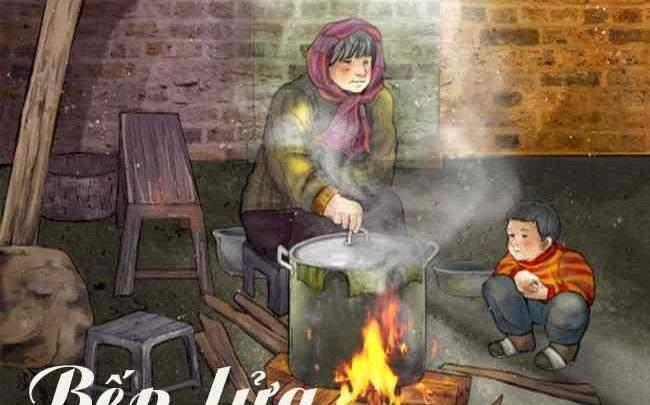 Soạn bài lớp 9: Bếp lửa