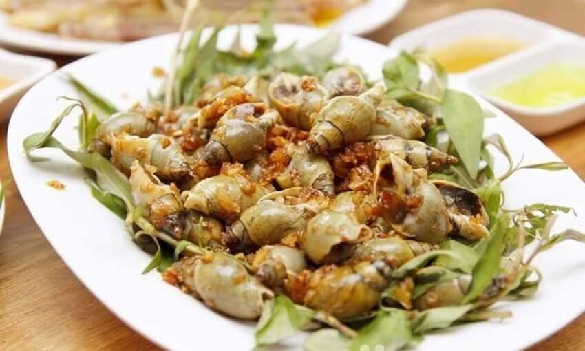 Cách làm ốc cà na xào tỏi