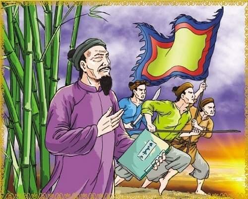 Mẫu 2 Soạn văn Nguyễn Đình Chiểu - Ngôi sao sáng trong văn nghệ c
