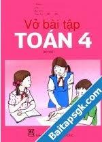 Bài 4 trang 17 VBT Toán 4 Tập 2