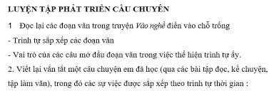 Tập làm văn Tuần 26 trang 52 VBT Tiếng Việt 4 Tập 2