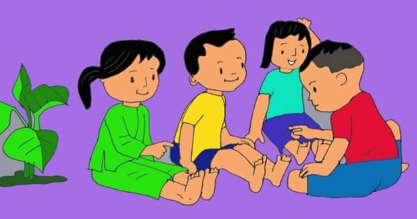 Trò chơi dân gian Việt Nam bằng tiếng anh