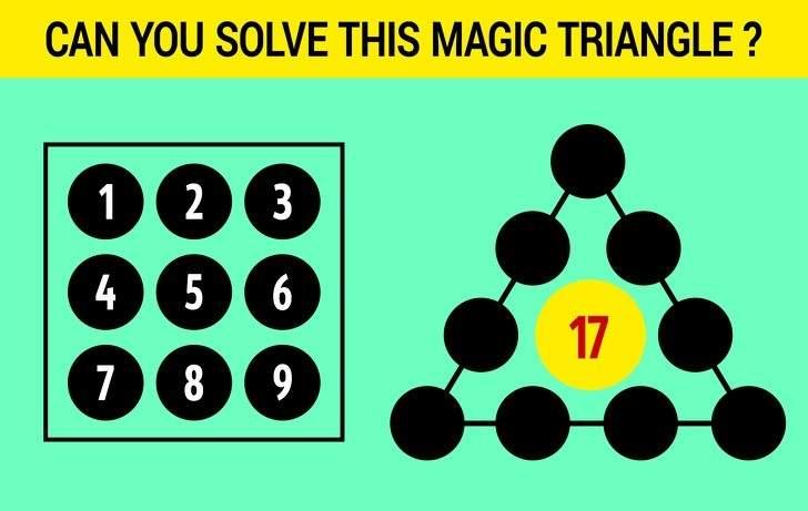 Phải thông minh lắm bạn mới giải được 6 câu đố kích thích trí não
