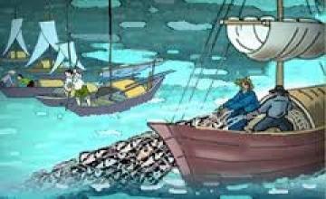 M1 Cảm nhận của em về đoạn thơ 3, 4, 5, 6 bài Đoàn thuyền đánh cá