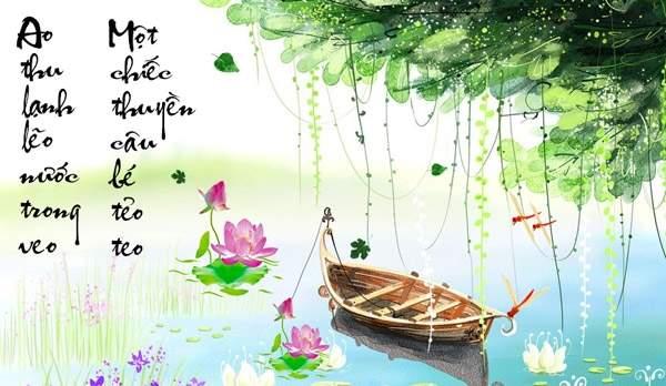 Phân tích bài Câu cá mùa thu (Thu điếu) của Nguyễn Khuyến Mẫu 3