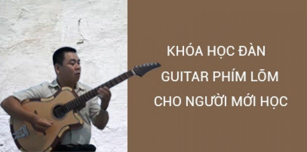 Guitar phím lõm dành cho người mới học